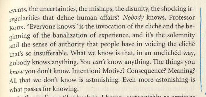philip roth nobody knows