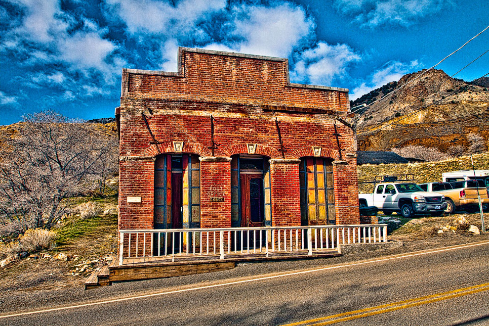Gold Hill Post Office, in the Virginia City Historic District, Nevada. (Brent Cooper)